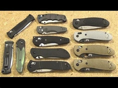knife collection benchmade folding knife collection