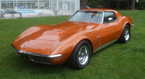 ontario orange 1972 corvette paint cross reference
