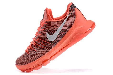new kevin durant sneakers nike kd 8 v 8 bright crimson silver swoosh kevin durant