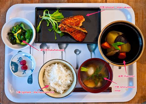meal pattern of japanese cuisine japanese cooking 101 lesson 6 putting it all together