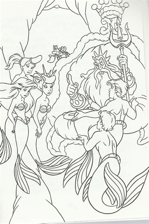 coloring pages of ariel and her sisters ariels sister adella coloring pages coloring pages