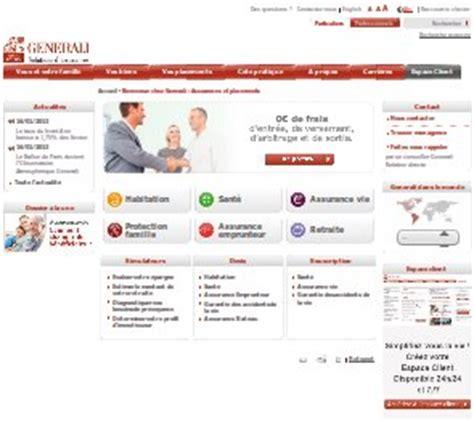 generali assurance si鑒e social espace client generali assurance epargne et patrimoine