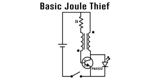 adding capacitor to joule thief joule thief low voltage battery charger do it yourself