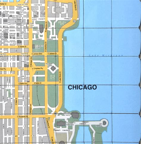 chicago map quiz chicago city map fridge magnet puzzle learn the city map