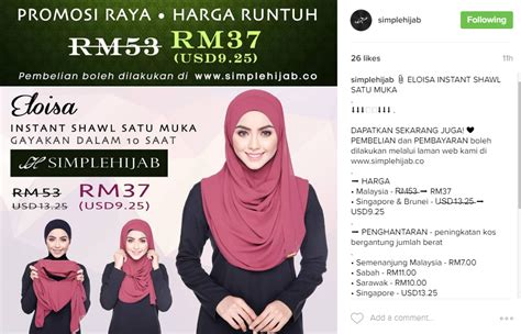 Pashmina Instanpastanpastan Satu Muka review promosi raya simplehijab harga runtuh nazihah jihah