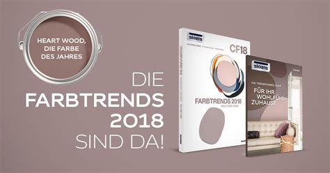 Wandfarbe Trend 2018 by Sikkens Colour Futures Deutschland