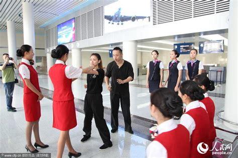 Wing Flight Attendant Pramugari prospective flight attendants practice wing chun to fight terrorism 3 s daily