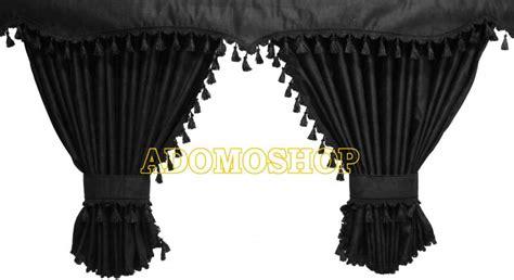 gardinen schwarz adomo lkw shop volvo gardinen schwarz schwarz lkw zubeh 246 r