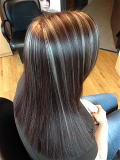 regis keratin treatment brown red red violet lowlights and blonde highlights my