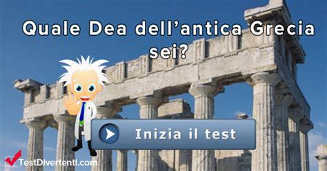 test divertenti quale dea dell antica grecia sei test divertenti