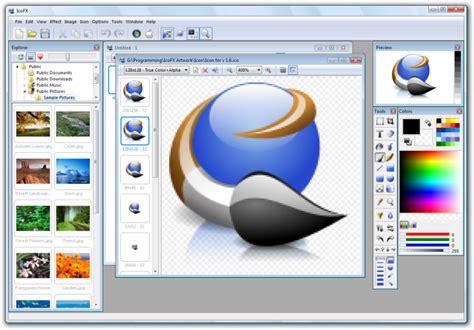 icon design software mac icofx icon editor f 252 r die erstellung transparenter