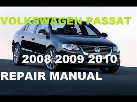 volkswagen passat    repair manual youtube