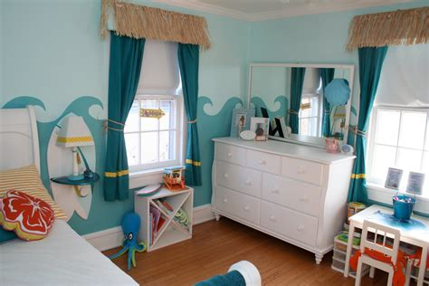 girls surfer room design dazzle