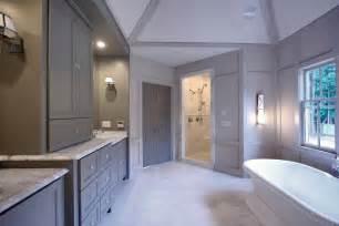 Grey Color Bathroom by Gray Bathroom Cabinets Design Ideas