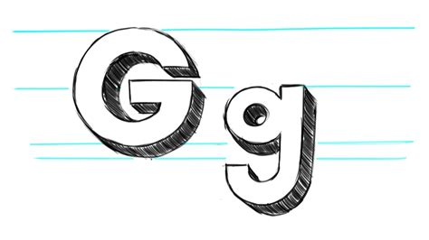 Drawing G how to draw letter g