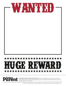 Most Wanted Template Poster by 29 Free Wanted Poster Templates Fbi And West