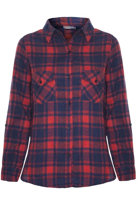 pattern green lumberjack shirt womens ladies lumberjack tartan check pattern front