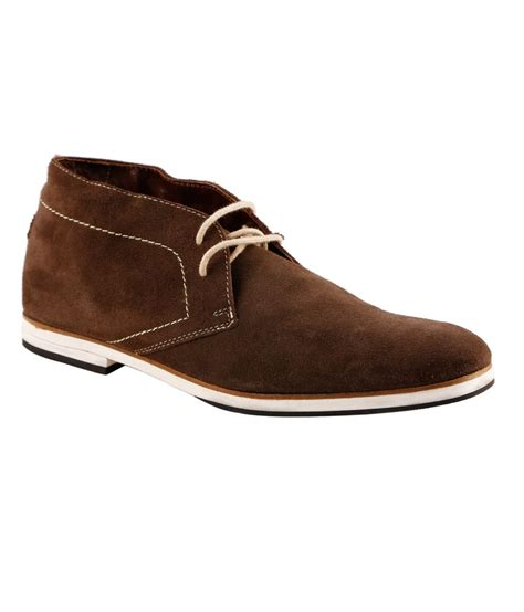 flexon brown casual shoes price in india buy flexon brown