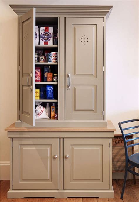 Freestanding Pantry Cabinet For Kitchen Free Standing Kitchen Pantry Cabinet Painted Kitchens Bedrooms Furniture Handmade In