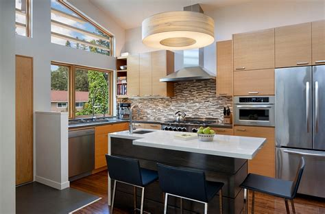 Contemporary Kitchen Carts And Islands contemporary kitchen island home design ideas