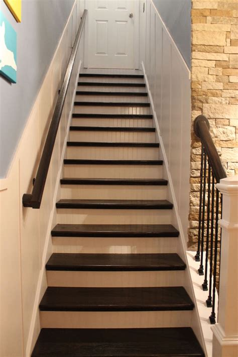 hometalk board  batten remodeled staircase