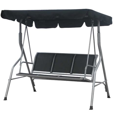 b q swing chair swing bench canopy b q benches