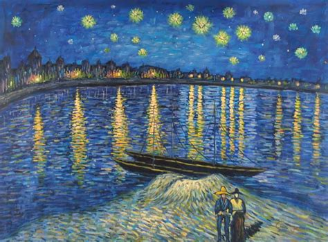 9 geeky variations of a starry night by van gogh epic landscape paintings by famous artists geek art gallery