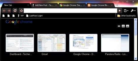 themes beta chrome google chrome beta adds themes techerator