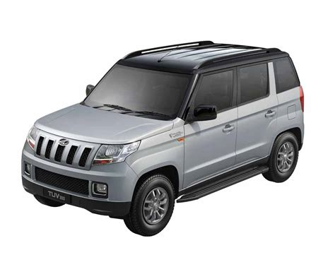 about mahindra mahindra tuv300 with dual tone colour launched at rs 9 15