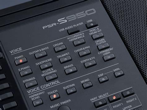 Yamaha Keyboard Arranger Psr S950 yamaha psr s950 arranger workstation keyboard yamaha