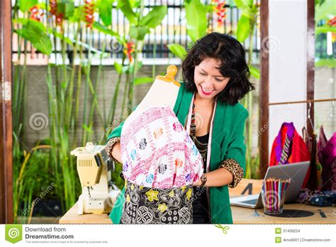 fashion designer working at home stock images image