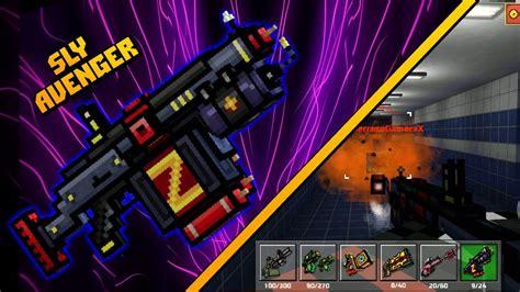 3d Avenger pixel gun 3d sly avenger review