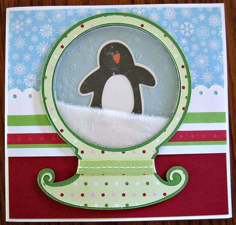 how to make a snow globe card snow globe card tip junkie
