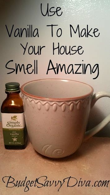 how to make a room smell better use vanilla to make your home smell amazing 2 tsp of vanilla in a coffee mug and placed in a