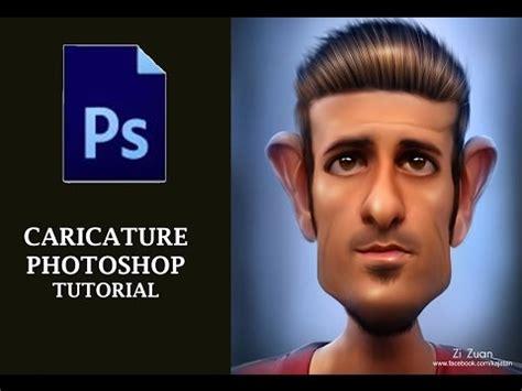 tutorial smudge di photoshop cs6 smudge caricature photo effect photoshop tutorial cs6 cc