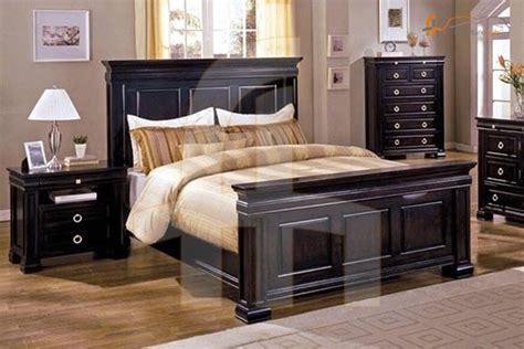 buy  piece bedroom set espresso   discount price  pakistan furniturehubpk
