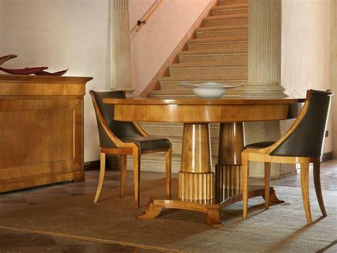 morelato tavoli tavolo allungabile ovale in ciliegio tavolo biedermeier