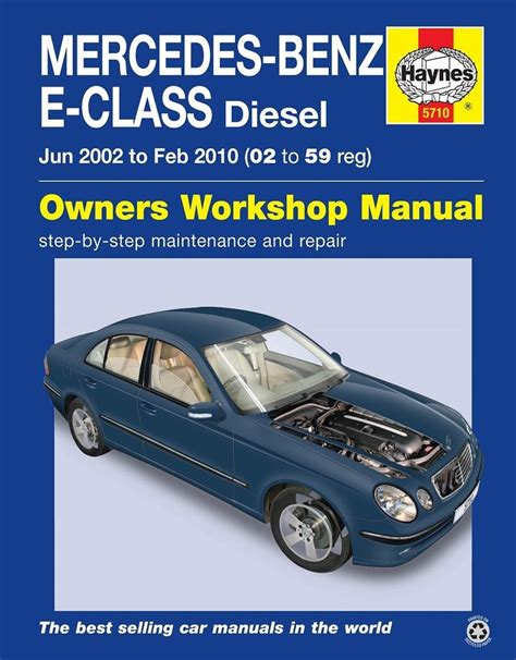 car repair manuals online pdf 2010 mercedes benz cl class auto manual mercedes e class w211 e220 e270 e280 e320 cdi 2002 2009 haynes manual 5710 ebay