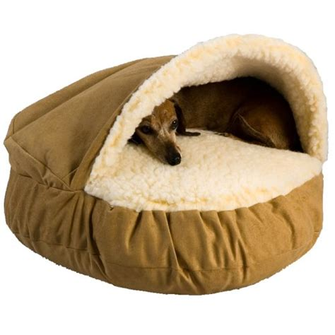 cave dog bed brand new pet bed luxury cozy cave camel large dog cat