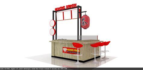 desain booth makanan booth cooking ramen khoirul booth