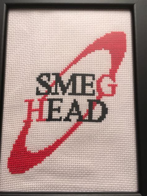 Reddish Cross Stitched Breadboard by Fo Cross Stitch For My Friend Crossstitch