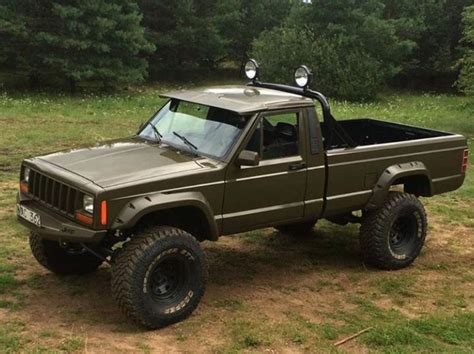 jeep comanche 4x4 278 best images about jeep comanche mj on