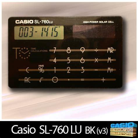 Lu Sl index of museum calculator sl sl 760 lu bk v3