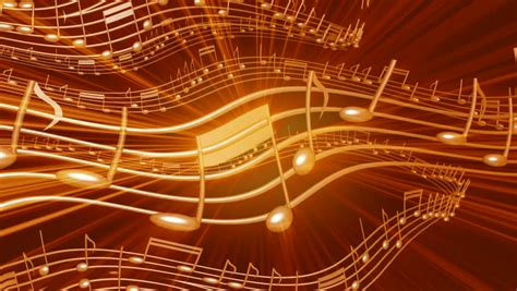 wallpaper gold music abstract cgi motion graphics and animated background with