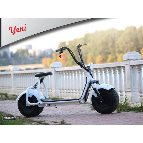 motoluex harley  bike beyaz motoluex eletrikli bisiklet