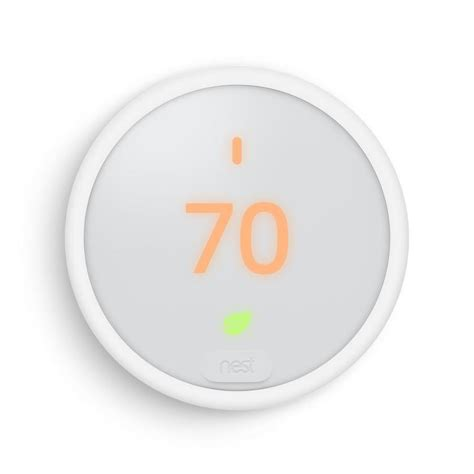 Shop Nest White E Thermostat with Wifi compatibility at Lowes.com