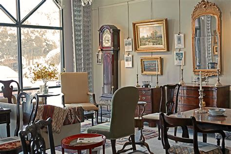 m ford creech antiques gallery interior