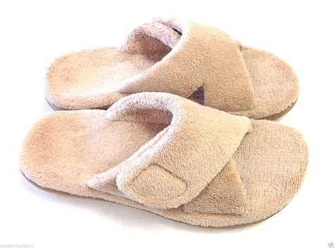 open toe slippers with arch support orthaheel relax slipper open toe adjustable straps w arch