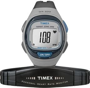 Sale Timex 36mm Personal Trainer Rate Monitor Grey Timex Personal Trainer Hrm