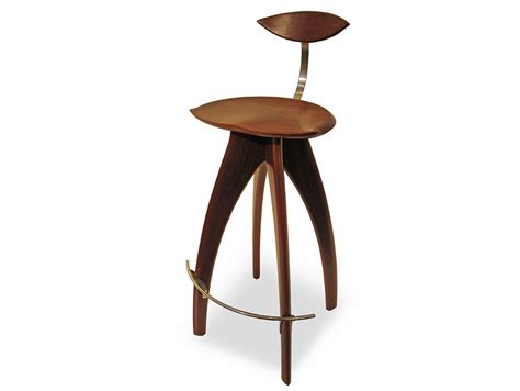 Bar Stool With Backrest Crab Bar Stool With Backrest Furniture Design